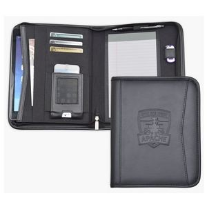 Tablet Padfolio with Zippered Closure (Temporarily Out of Stock - See AS877)